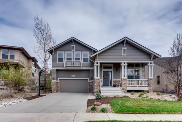 12176 S Hidden Trail Court, Parker, CO 80138 (#2890187) :: The DeGrood Team