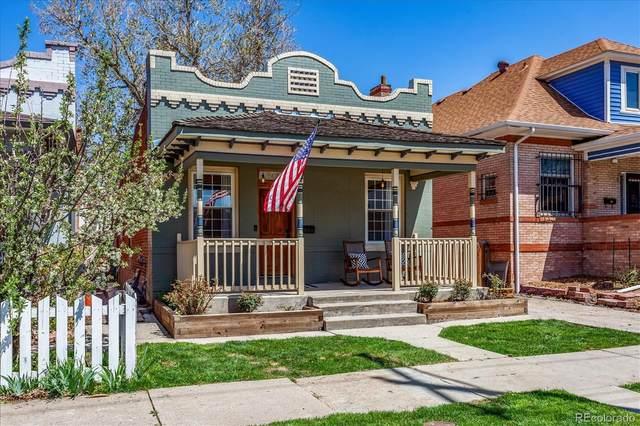 3435 W Conejos Place, Denver, CO 80204 (#2890633) :: Re/Max Structure