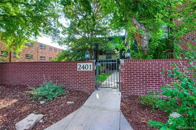 2401 S Gaylord Street #305, Denver, CO 80210 (#2894828) :: Signature Realty, Inc.