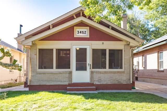 3452 W 34th Avenue, Denver, CO 80211 (MLS #2895124) :: 8z Real Estate