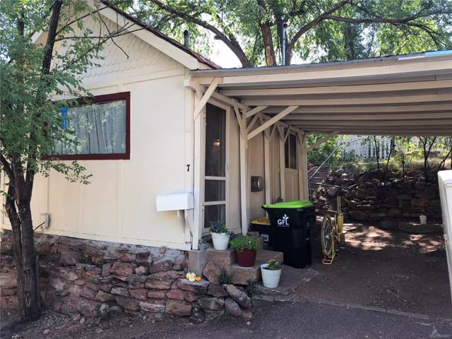 7 Ute Trail, Manitou Springs, CO 80829 (#2895130) :: The DeGrood Team