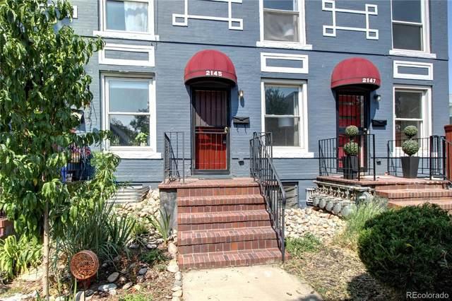 2145 N Marion Street, Denver, CO 80205 (#2897289) :: The Gilbert Group
