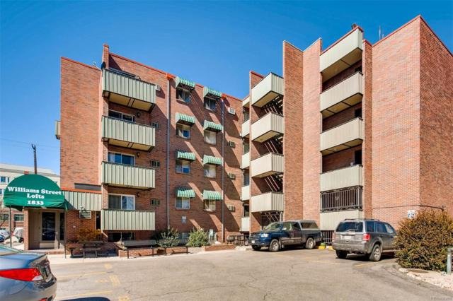 1833 N Williams Street #308, Denver, CO 80218 (#2897915) :: The Heyl Group at Keller Williams