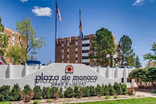 2880 S Locust Street S601, Denver, CO 80222 (#2902458) :: Compass Colorado Realty