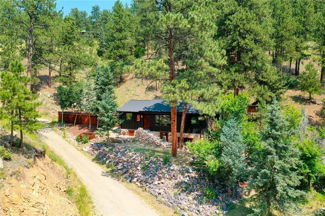 5150 Parmalee Gulch Road, Indian Hills, CO 80454 (#2908900) :: The Gilbert Group