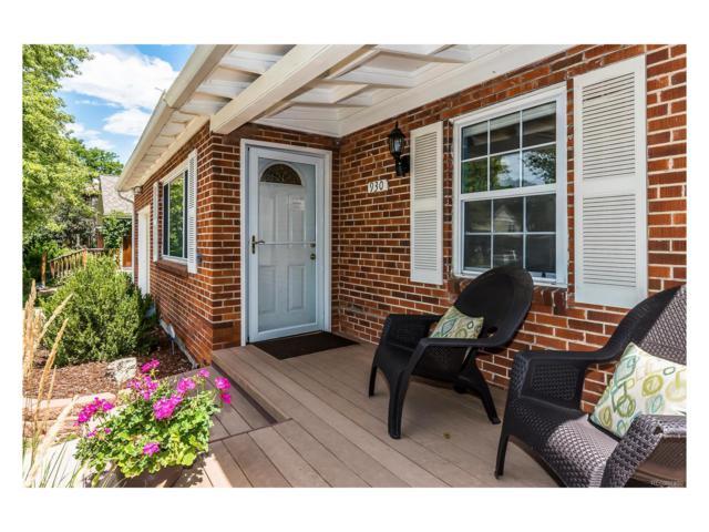 930 Forest Street, Denver, CO 80220 (#2917103) :: Wisdom Real Estate