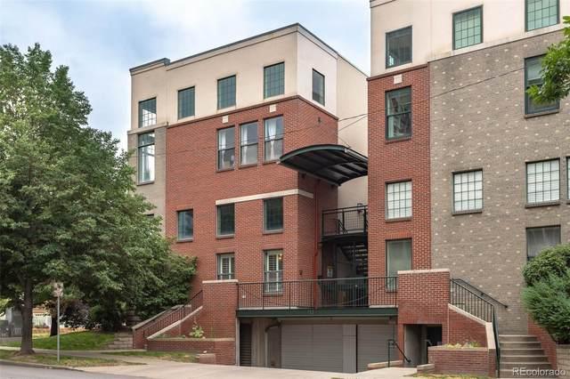790 Clarkson Street #101, Denver, CO 80218 (#2918686) :: Finch & Gable Real Estate Co.