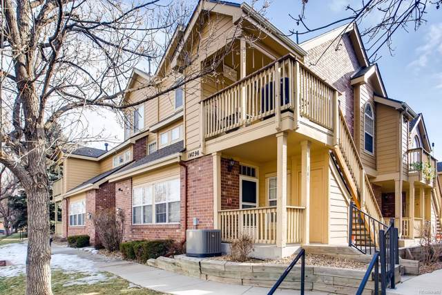 14296 E Whitaker Place #104, Aurora, CO 80015 (#2921776) :: The HomeSmiths Team - Keller Williams