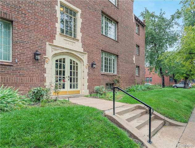 1410 Vine Street #5, Denver, CO 80206 (MLS #2922325) :: 8z Real Estate
