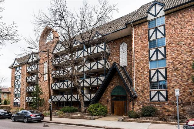 1350 Josephine Street #107, Denver, CO 80206 (#2924461) :: Wisdom Real Estate