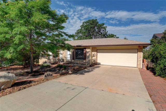 6220 Tuckerman Lane, Colorado Springs, CO 80918 (#2925400) :: Mile High Luxury Real Estate