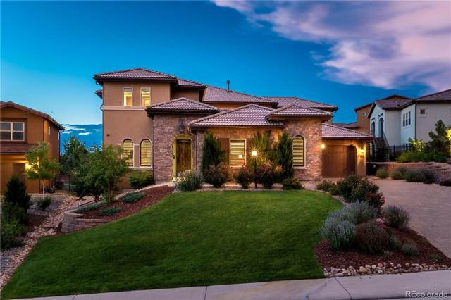 9697 Vista Hill Trail, Lone Tree, CO 80124 (#2930590) :: The Healey Group