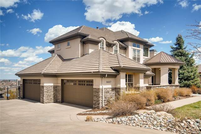 8667 Sawgrass Drive, Lone Tree, CO 80124 (#2932152) :: The HomeSmiths Team - Keller Williams