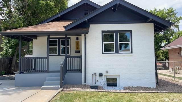 931 Newton Street, Denver, CO 80204 (#2939146) :: Venterra Real Estate LLC