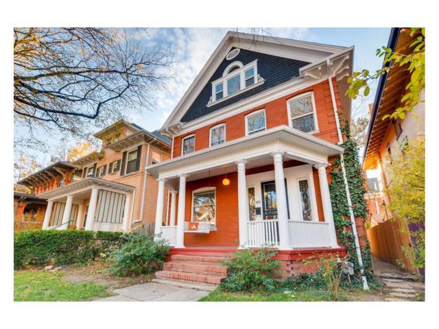 1165 N Lafayette Street, Denver, CO 80218 (#2949115) :: Thrive Real Estate Group