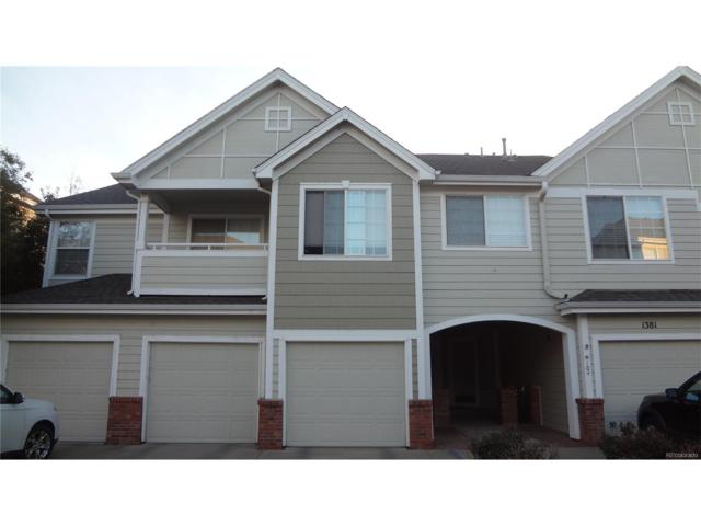 1381 S Cathay Court #102, Aurora, CO 80017 (MLS #2950234) :: 8z Real Estate