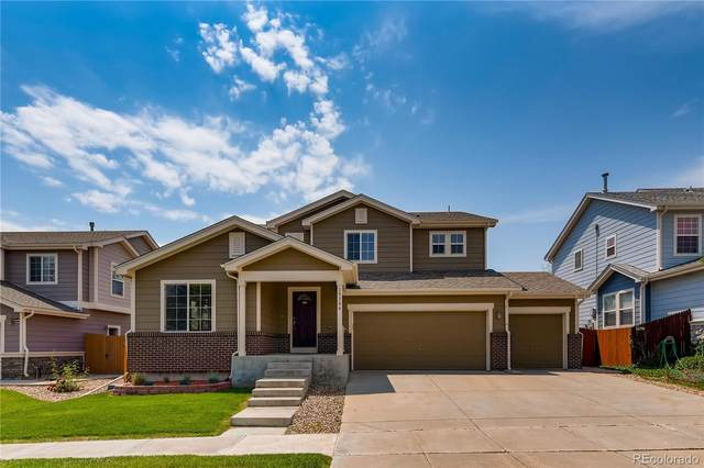 15346 E 101st Place, Commerce City, CO 80022 (#2951509) :: Berkshire Hathaway HomeServices Innovative Real Estate
