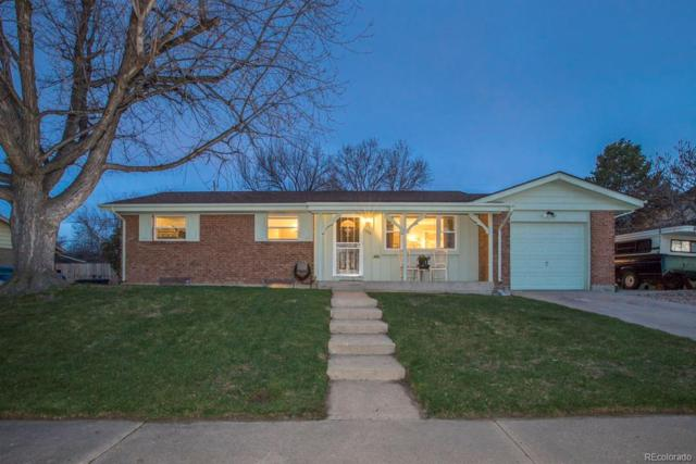 1352 W 103rd Avenue, Northglenn, CO 80260 (#2952927) :: The Griffith Home Team