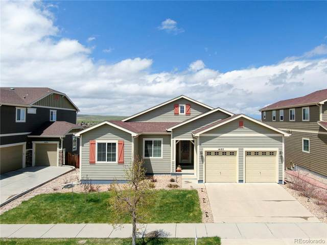 14183 W 91st Lane, Arvada, CO 80005 (#2953038) :: The Harling Team @ HomeSmart