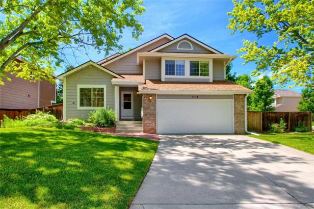 718 Poppywood Place, Highlands Ranch, CO 80126 (MLS #2954223) :: 8z Real Estate