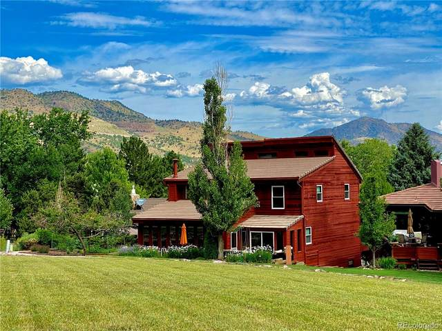 5542 Golf Course Drive, Morrison, CO 80465 (#2954402) :: Chateaux Realty Group