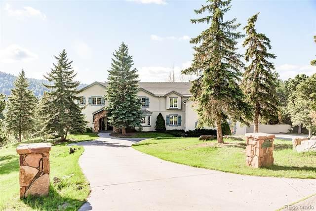 27946 Meadowlark Drive, Golden, CO 80401 (#2958303) :: HomeSmart
