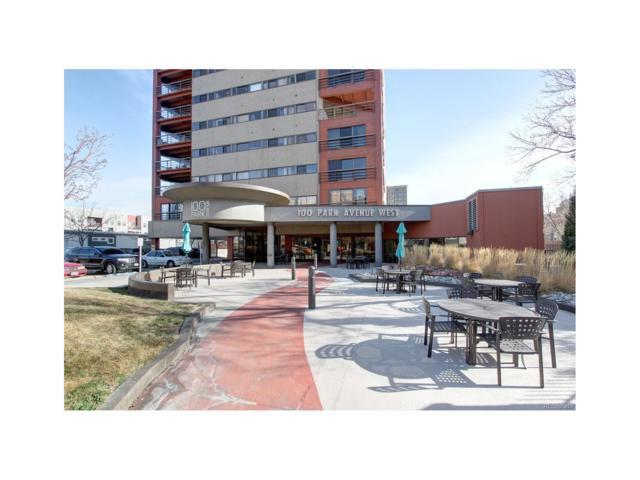 100 Park Avenue #404, Denver, CO 80205 (MLS #2958741) :: 8z Real Estate