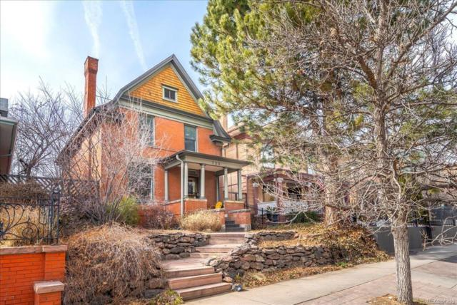 735 N Downing Street, Denver, CO 80218 (#2963349) :: The HomeSmiths Team - Keller Williams