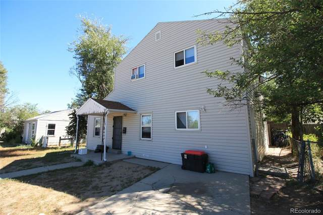 1156 N Xenia, Denver, CO 80220 (#2964488) :: Chateaux Realty Group
