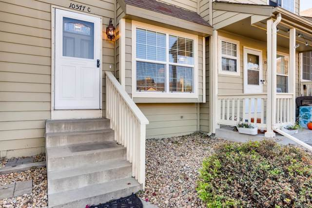 10577 W Maplewood Drive C, Littleton, CO 80127 (#2972731) :: The DeGrood Team