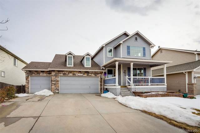 11074 E 112th Place, Commerce City, CO 80640 (#2976743) :: The Griffith Home Team