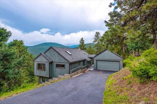 32896 Timber Ridge Road, Evergreen, CO 80439 (#2978409) :: The HomeSmiths Team - Keller Williams