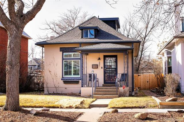221 S Ogden Street, Denver, CO 80209 (#2984896) :: Stephanie Fryncko | Keller Williams Integrity
