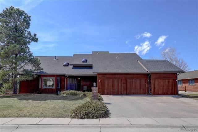 6219 Northstar Ridge Lane, Parker, CO 80134 (#2985032) :: The Peak Properties Group