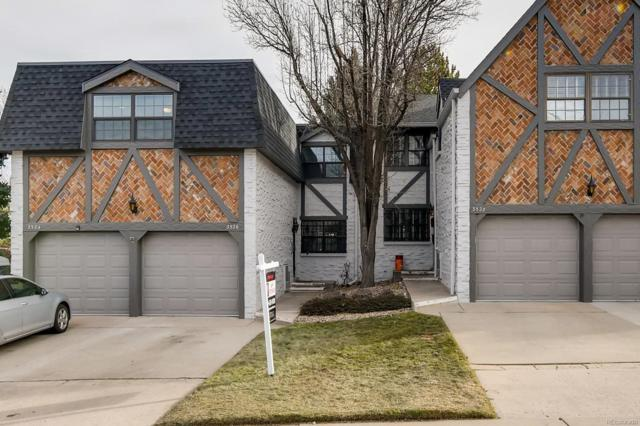 3526 S Ivanhoe Street, Denver, CO 80237 (#2985558) :: The Griffith Home Team