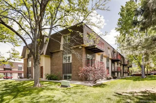 7755 E Quincy Avenue #104, Denver, CO 80237 (#2986524) :: The HomeSmiths Team - Keller Williams