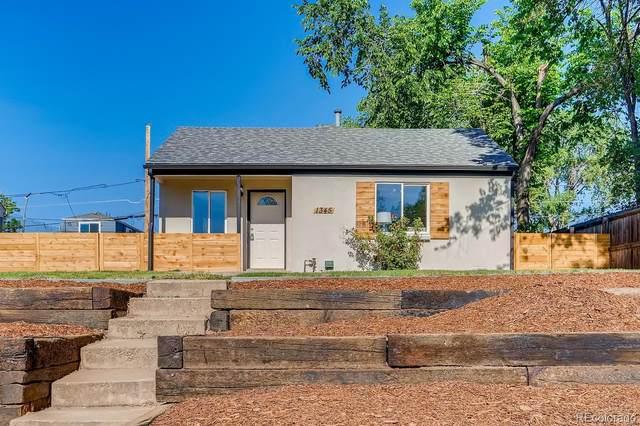 1345 Newton Street, Denver, CO 80204 (MLS #2987133) :: 8z Real Estate