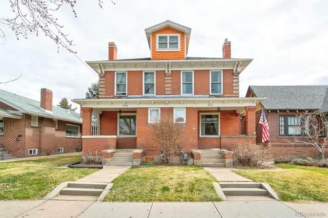 434 N Pennsylvania Street, Denver, CO 80203 (#2987978) :: The HomeSmiths Team - Keller Williams