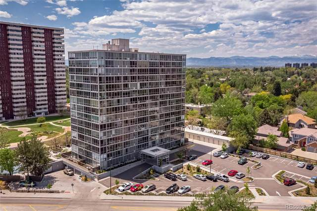 3100 E Cherry Creek South Drive #308, Denver, CO 80209 (#2990744) :: The Healey Group