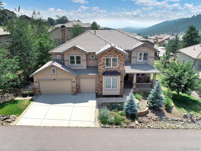 820 Elk Rest Road, Evergreen, CO 80439 (#2993309) :: You 1st Realty