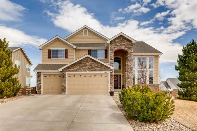 5412 Craftsman Drive, Parker, CO 80134 (#2993622) :: The Peak Properties Group