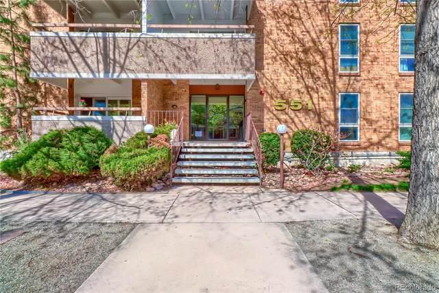 551 Pearl Street #106, Denver, CO 80203 (#2995538) :: The HomeSmiths Team - Keller Williams