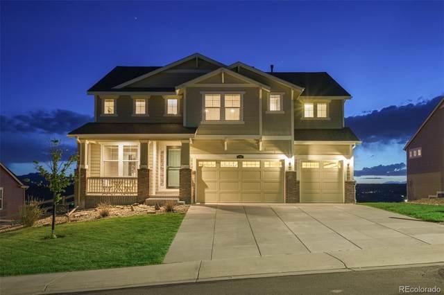 3707 Eveningglow Way, Castle Rock, CO 80104 (#2996470) :: Mile High Luxury Real Estate