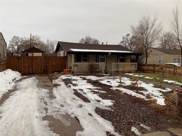 873 S Vrain Street, Denver, CO 80219 (#2997287) :: The HomeSmiths Team - Keller Williams