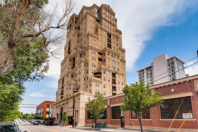 300 W 11th Avenue 8E, Denver, CO 80204 (#2998516) :: The Pete Cook Home Group