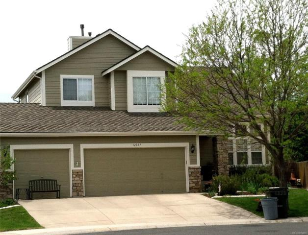 12657 S Oak Creek Court, Parker, CO 80134 (#2998815) :: The Heyl Group at Keller Williams