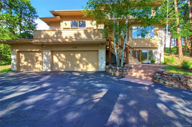 1388 Brighton Court, Evergreen, CO 80439 (#2998900) :: The City and Mountains Group
