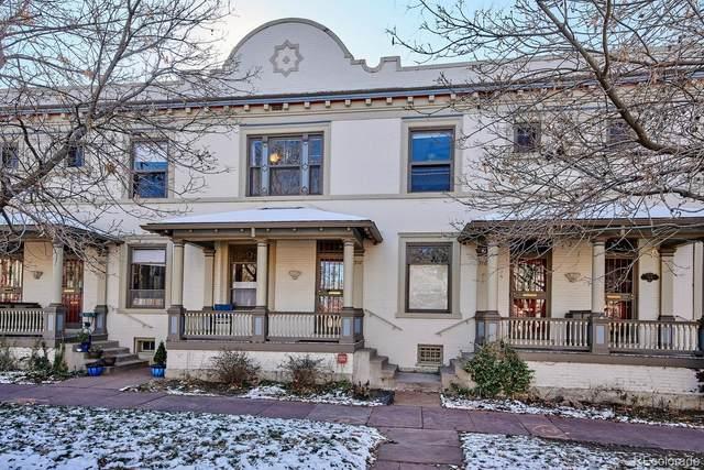 918 E 16th Avenue, Denver, CO 80218 (#2999729) :: Symbio Denver