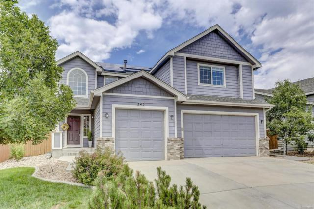 545 Short Drive, Dacono, CO 80514 (#3001158) :: Bring Home Denver