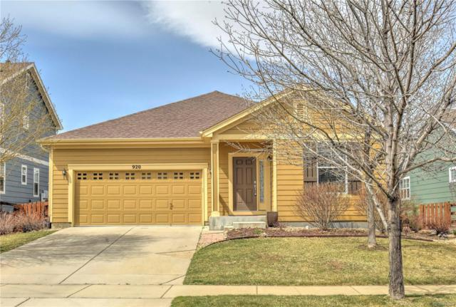 920 Eichhorn Drive, Erie, CO 80516 (#3002839) :: The Peak Properties Group